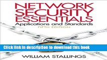 [Download] Network Security Essentials Applications and Standards (5th Edition)  Read Online