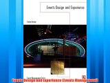 Enjoyed read Events Design and Experience (Events Management)