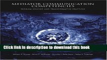 Read Books Mediator Communication Competencies: Problem Solving and E-Book Free