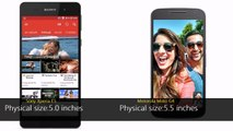 Sony Xperia E5 vs Motorola Moto G4