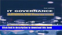[Read PDF] It Governance: A Manager s Guide to Data Security   BS 7799/ISO 17799  Read Online