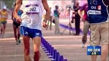 Yohann Diniz, en marche pour les JO de Rio