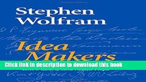 Read Idea Makers: Personal Perspectives on the Lives   Ideas of Some Notable People PDF Online