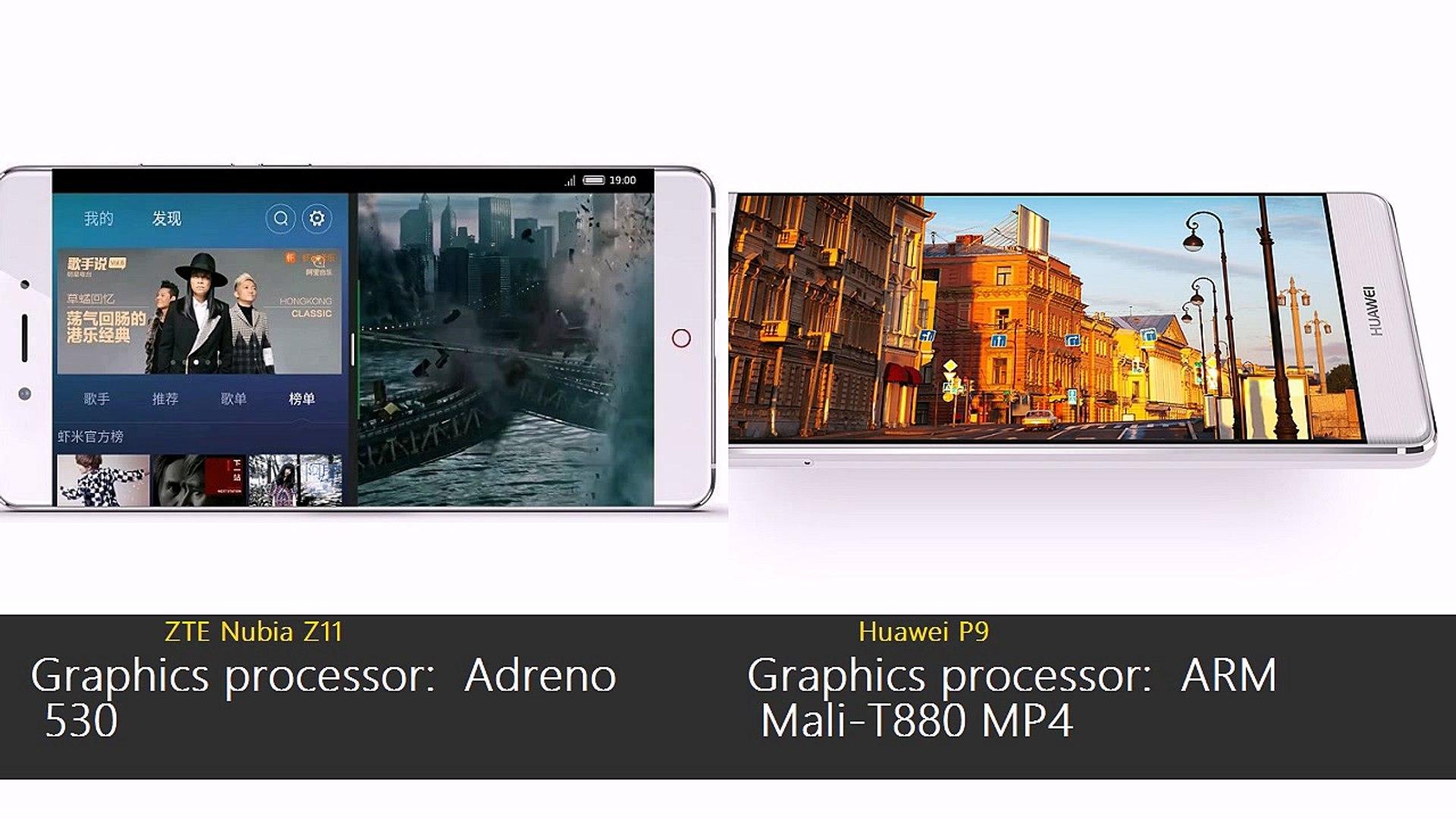 ZTE Nubia Z11 vs Huawei P9