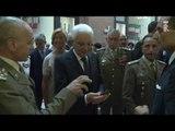 Roma - Mattarella al Sacrario delle Bandiere delle Forze Armate (27.07.16)
