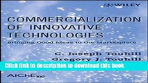PDF Commercialization of Innovative Technologies: Bringing Good Ideas to the Marketplace PDF Book