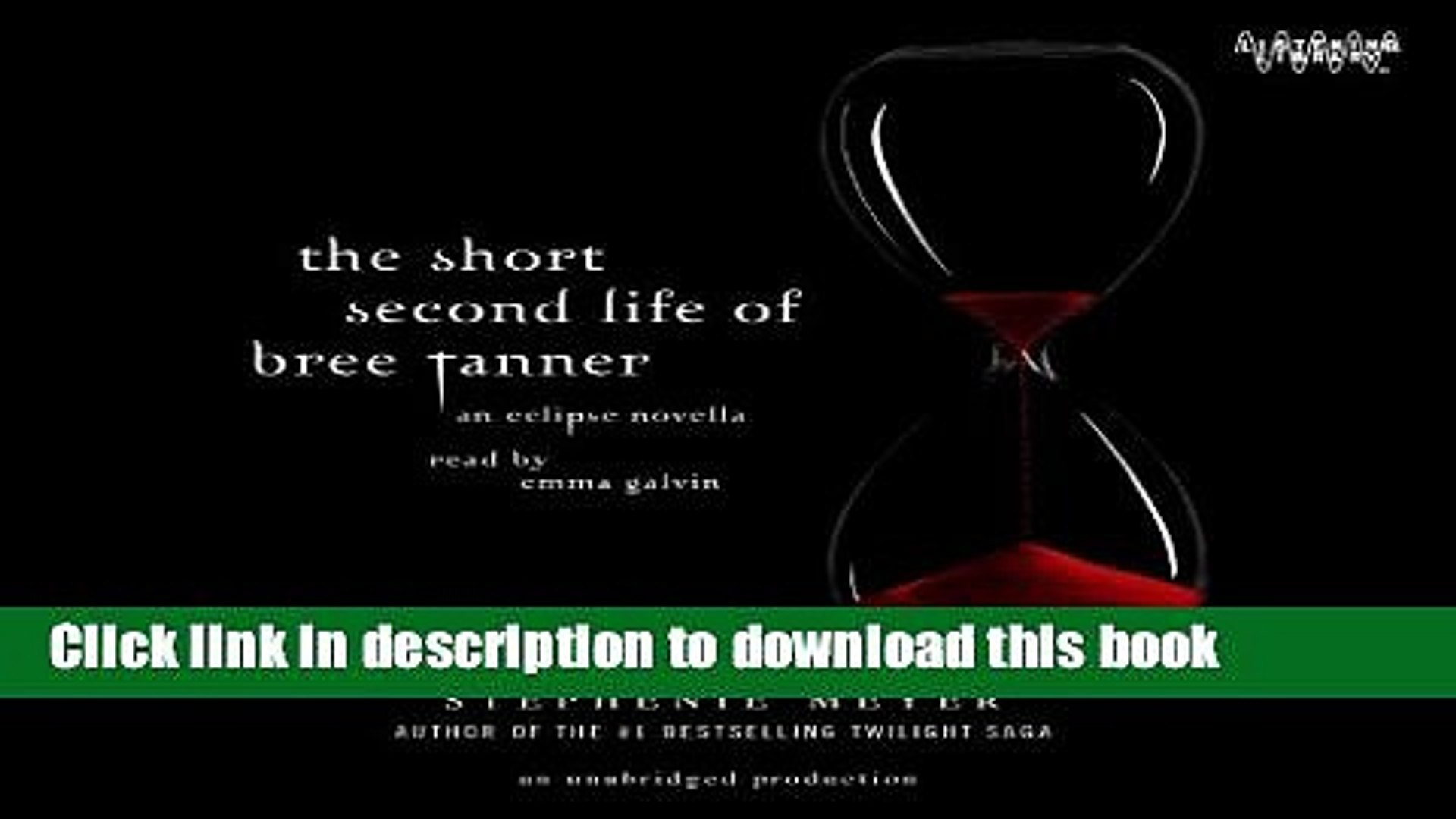 außergewöhnliche Auswahl an Stilen und Farben Original langlebig im einsatz [PDF] The Short Second Life of Bree Tanner an Eclipse Novella Download Full  Ebook