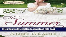 [Download] The Summer Bride (Chance Sisters Romance)  Read Online
