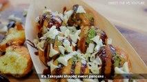 [설명] 타코야키 핫케이크 만드는법  SWEET TAKOYAKI RECIPE [스윗더미 . Sweet The MI]