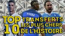 Le nouveau Top 10 des plus gros transferts de l'histoire