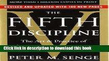 Read Books The Fifth Discipline: The Art   Practice of The Learning Organization ebook textbooks