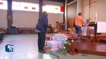 Saint-Etienne-du-Rouvray: les fidèles se recueillent après la mort du prêtre Jacques Hamel