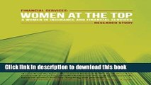 Read Books Financial Services: Women at the Top: A WIFS Research Study PDF Online