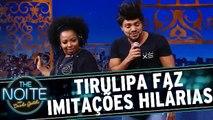 Tirulipa imita Beyoncé, Bruno Mars e Luan Santana