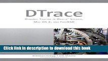 Read DTrace: Dynamic Tracing in Oracle Solaris, Mac OS X and FreeBSD Ebook Free