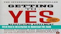 Read Books Getting to Yes: Negotiating Agreement Without Giving In E-Book Free