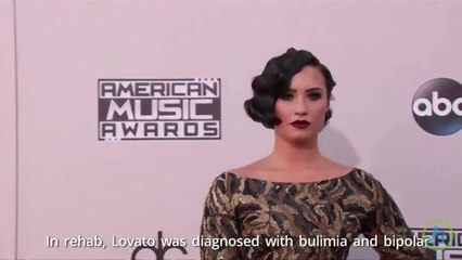 Demi Lovato Battled Addiction & Eating Disorders