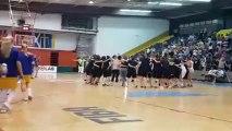Slavlje bh. juniorki nakon pobjede protiv Poljske od 81:59 [U-18]