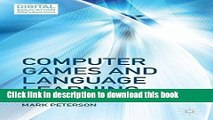 Read Books Computer Games and Language Learning (Digital Education and Learning) ebook textbooks