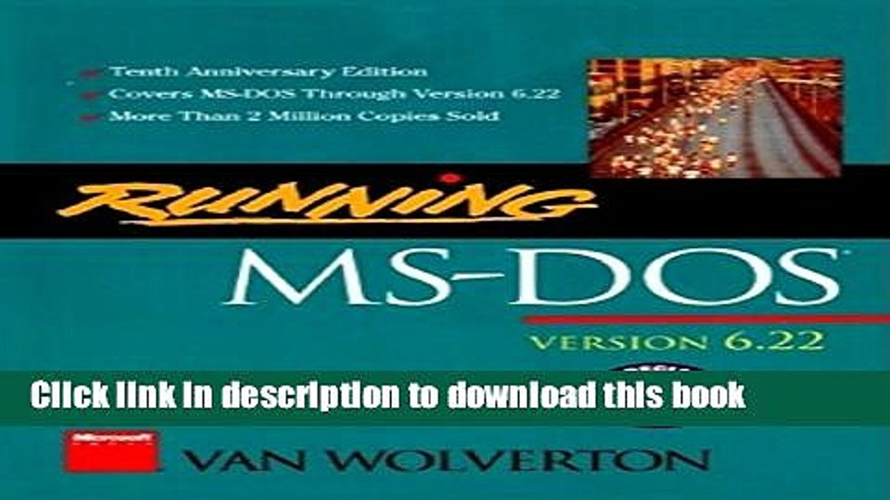 Download Books Running MS-DOS PDF Free