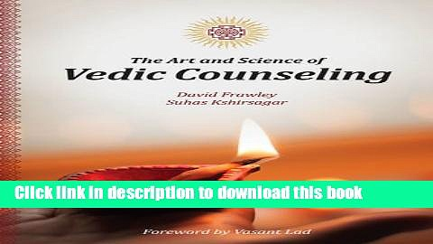 Download Books The Art and Science of Vedic Counseling E-Book Download