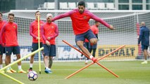 Skills from Luis Suárez at St. George's Park