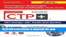 Read CompTIA CTP+ Convergence Technologies Professional