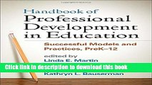 Read Books Handbook of Professional Development in Education: Successful Models and Practices,