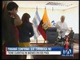 Panamá confirma que Galo Chiriboga no tiene cuentas ni bienes en ese país