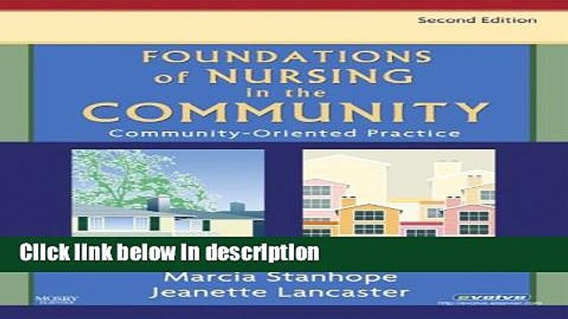Books Foundations of Nursing in the Community: Community-Oriented Practice, 2e Free Online