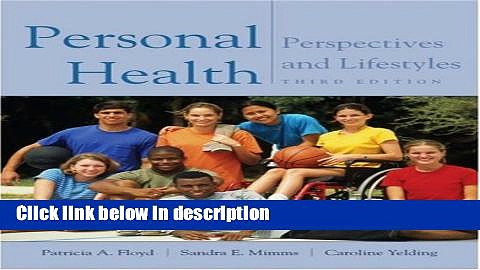 Ebook Personal Health: Perspectives and Lifestyles (with InfoTrac and Health and Fitness and