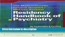 Books The Massachusetts General Hospital/McLean Hospital Residency Handbook of Psychiatry Free