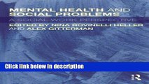 Books Mental Health and Social Problems: A Social Work Perspective Full Online