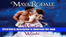 Books What a Wallflower Wants  (Bad Boys and Wallflowers series, Book 3) (Bad Boys   Wallflowers)