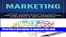 Books Marketing: Grow Your Business FAST - Online Marketing, Marketing Strategy   Networking