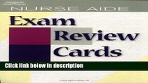 Ebook Nurse Aide Exam Review Cards (Test Preparation) Full Online