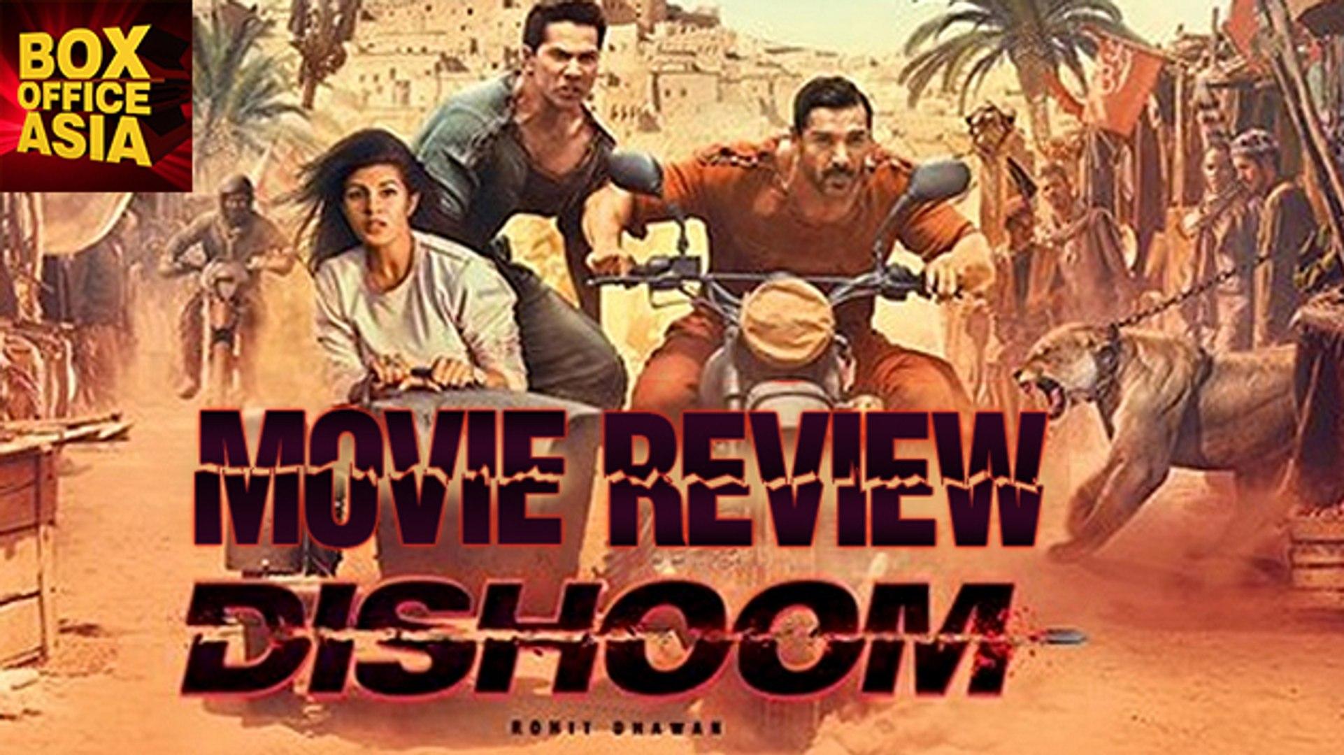 Dishoom Movie Review Varun Dhawan John Abraham Jacqueline Fernandez Box Office Asia