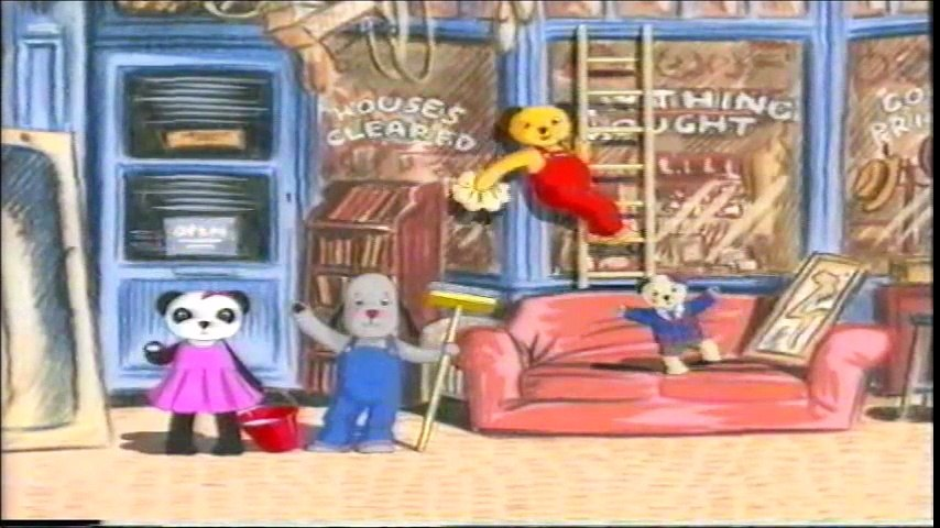 Start and End of Sooty and Co. - Moving In and Bubble Trouble VHS (Monday 7th March 1994)   Godialy.com
