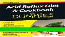 Ebook Acid Reflux Diet and Cookbook For Dummies Free Download