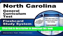 Books North Carolina General Curriculum Test Flashcard Study System: Practice Questions   Exam