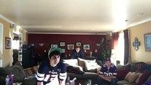 Vikings and patriots fan react to Blair Walsh missed FG vs Seahawks 1/10/16