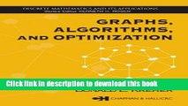 Ebook Graphs, Algorithms, and Optimization Free Online