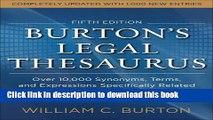 PDF] Burtons Legal Thesaurus 5th edition: Over 10,000