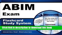 Books ABIM Exam Flashcard Study System: ABIM Test Practice Questions   Review for the American