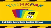 Ebook Thinkpak: A Brainstorming Card Deck Full Online