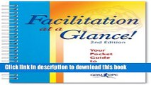 Ebook Facilitation at a Glance!: A Pocket Guide of Tools and Techniques for Effective Meeting