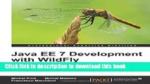 Books Java EE 7 Development with WildFly Full Online