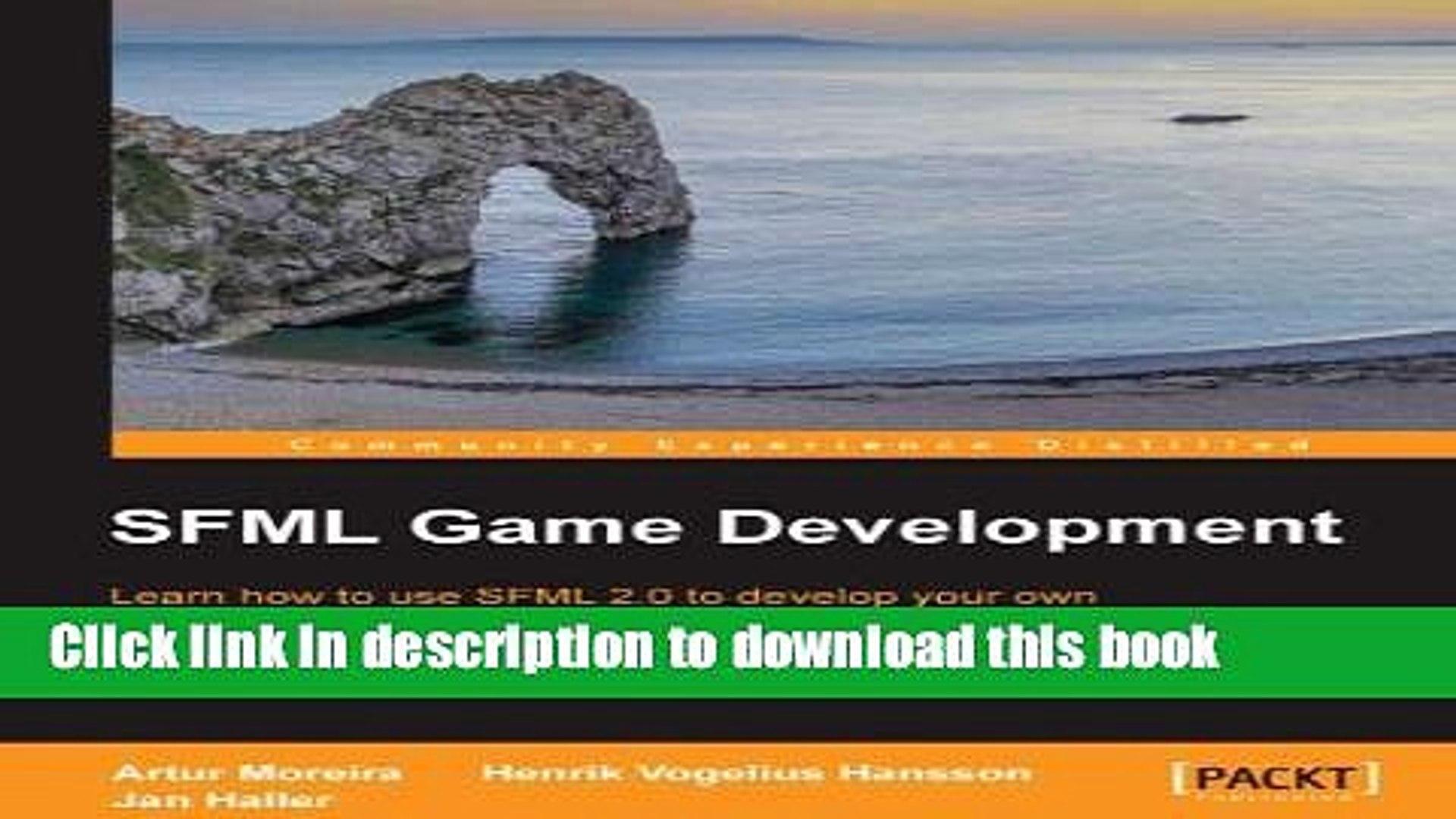 Ebook SFML Game Development Free Download