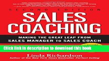 Books Sales Coaching: Making the Great Leap from Sales Manager to Sales Coach Free Online