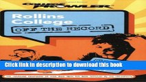 Books Rollins College: Off the Record (College Prowler) (College Prowler: Rollins College Off the